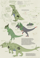 Tyranitar and cousins
