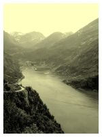end of Geirangerfjorden by Marilor