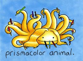 Prismacolor Animal by andalasur