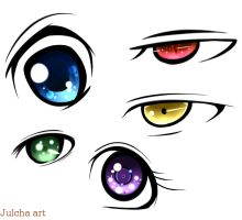 Eyes by julcha97