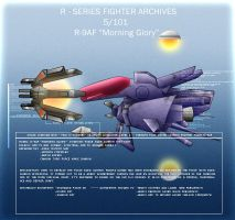 R-9AF 'Morning Glory' by Wes2299
