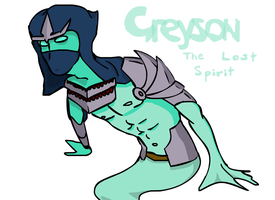 Greyson, The Lost Spirit. by Roxas5