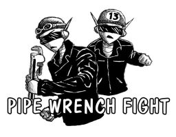 PipeWrenchFight by octocentesquiderfish