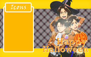 Shingeki No Halloween Wallpaper by MikuMendoza2