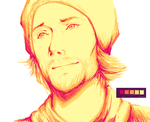 Colour Palette Challenge: Jared Padalecki by AmberWorks
