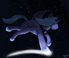 Dance Across the Night Sky by EonShinato