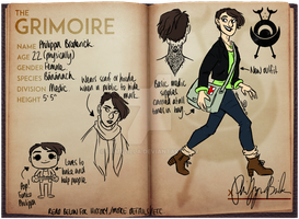 Phil's Back at Grimoire by bambzilla