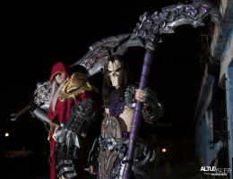 Darksiders  - War And Death Cosplay by MEG-Cosplay