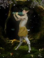 Enchantment of the Faun by Alegion