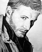 Jensen Ackles (Dean Winchester - Supernatural) by EnderBerlyn