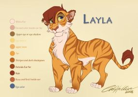 Layla RefSheet by Emo-Hellion