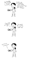 If Chell could talk by Super-Cute