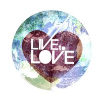 Live to Love Concept Logo by eggay