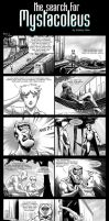 The Search for Mystacoleus (A Webcomic) Part 4 by ryuzo