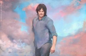 Norman Reedus  - wind by Gregory-Welter