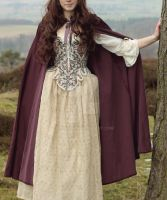 Corset and Cloak by Rachyf1