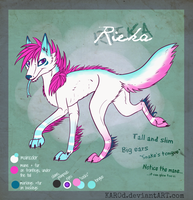 Out-dated REF. Rieka by Karoopa