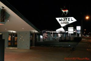 Motel Safari Route 66, NM by rjcarroll