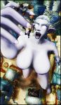 COMMISSION - Lora's Giantess Rampage PT 1 by Cru-the-Dwarf