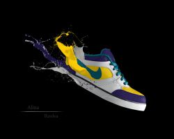 Nike shoe by AlinaRaulea
