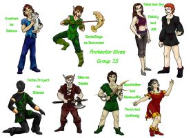 Protector Elves Group 7point5 by lethe-gray
