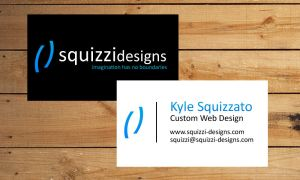 Squizzi Designs Business Card by squizzi