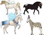 OPEN Fantasy Horse Auction by AfriditeAdopts