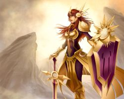 Leona, the Radiant Dawn by 23rdAngel
