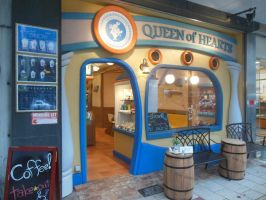 Shizuoka Queen of Hearts Cafe by rlkitterman