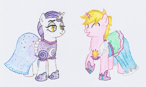ATG S5  Week 13 - Princess Dresses by Jezendar