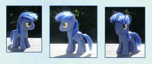 My Little Pony Noteworthy Custom by kaizerin