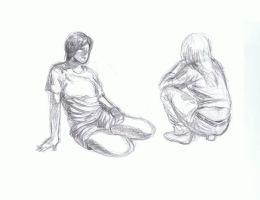 quick sketches -daily people2 by cheatingly