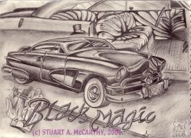 "1950 Ford ""Black Magic"" by duraluminwolf"