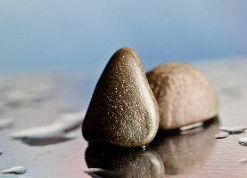 Two small pebble by Solvic1