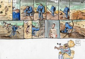 Hieronymus Bosch comic by Iceland-Ink