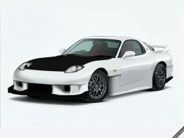 Mazda RX-7 'the RE project' by ryuzo13