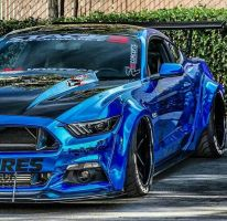 Ford Mustang Stage 3 Performance by Ricardhola