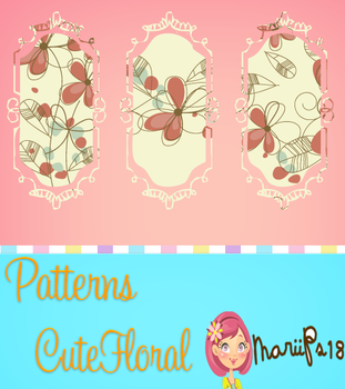Pattern CuteFloral by MariiPs18