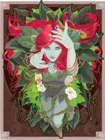 Batman Poison-ivy by johnbellottijr