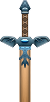 Forest Sword by BLUEamnesiac