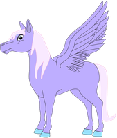 My first Pegasus vector. by Flutterflyraptor