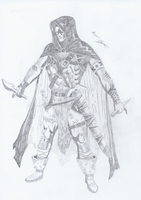 Hooded Assassin by Survivalise