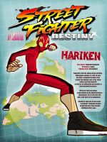 Street Fighter Destiny - HARIKEN by G-for-Galdelico