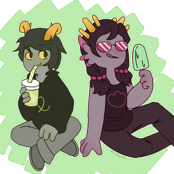 fantroll commission by MoonPaw17