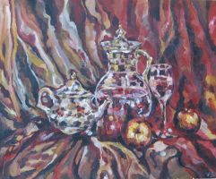 Teapot-Still-Life by Cassiuseos