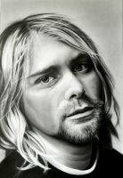 Kurt Cobain - Nirvana by GemmaFurbank