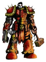 CHAOS SPACE MARINE by CatzK3