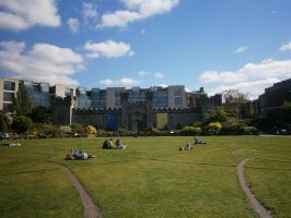 Dublin Castle by animatorV