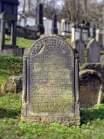 Old Jewish gravestone by PaSt1978