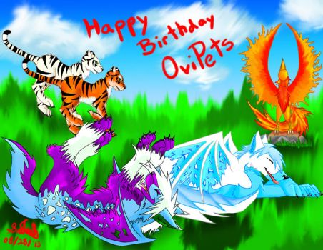 OviPets Birthday by enyce122